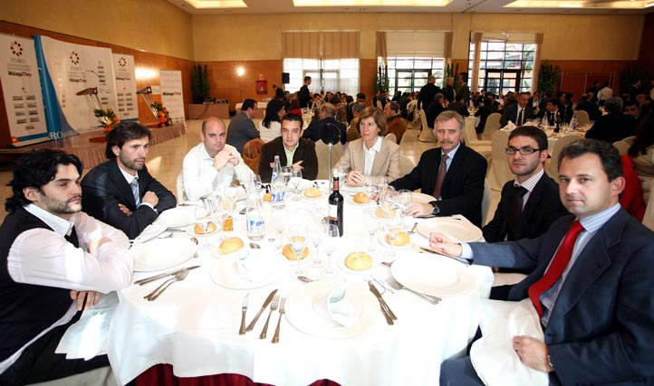 El consejero delegado de Grupo Meyluna en el Foro 'Málaga hoy'