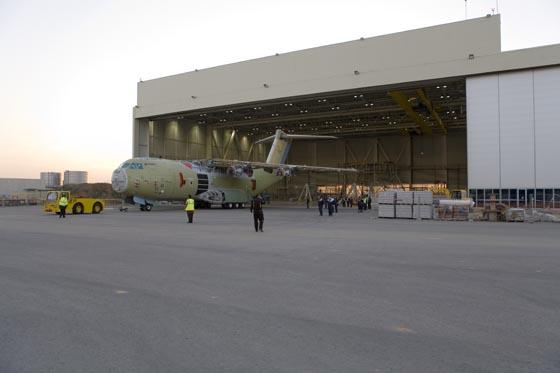 Ensamblaje del Airbus A400M