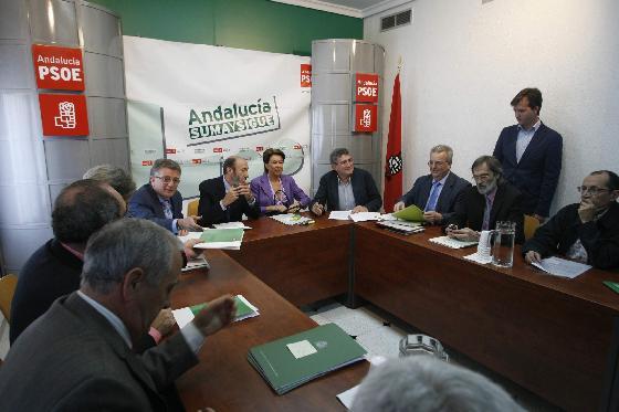 Reunión socialista en la provincia