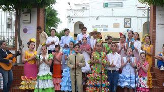La provincia de Huelva camina hacia El Rocío 2008