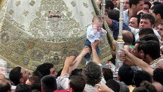 La Virgen del Rocío visita la Hermandad de Jerez