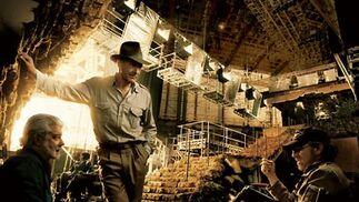 Tensión entre Lucas y Spielberg por 'Indiana Jones 5'