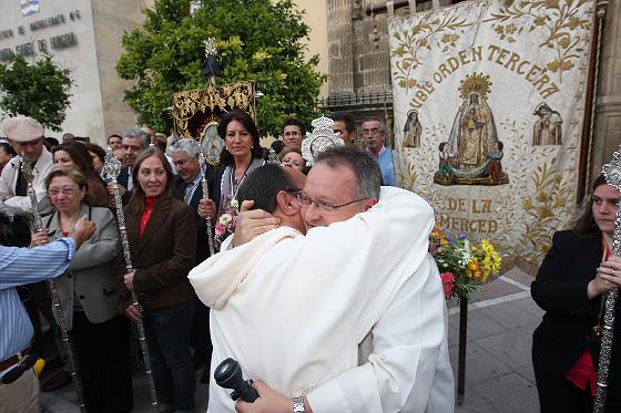 Llegada de la Hermandad del Rocío de Jerez