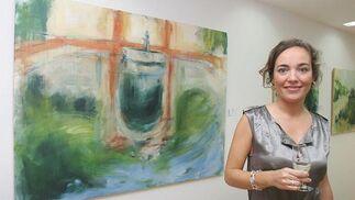 Rocío Cano expone sus paisajes en 'ArteaDiario'