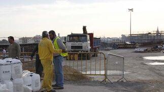 Huelga de la construcción en la provincia