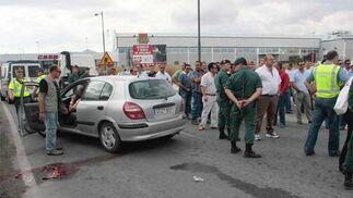 Fallece atropellado un huelguista en Granada