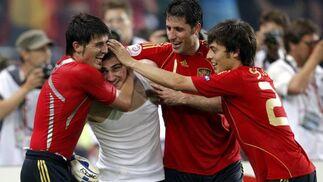 Las mejores imágenes del España - Italia