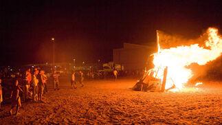 El fuego toma la noche de San Juan
