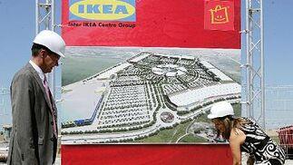 Primera piedra de Ikea en Jerez