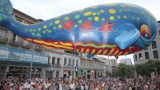 Cabalgata de color en la Feria de Almería