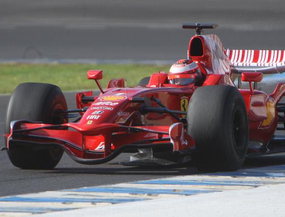 Entrenamientos de Fórmula 1 en Jerez