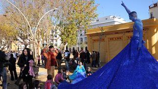 Inauguración oficial de la Alameda de Hércules