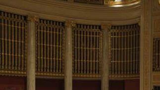 Vista general de la Gran Sala de la Wiener Konzerthaus durante el concierto de la Sinfónica de Sevilla.  Foto: Robert Newald