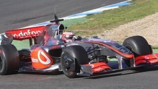 Reparto de pesos, simulaciones de Gran Premio y aerodinámica, copan los trabajos llevados a cabo por los cinco equipos presentes hoy en Jerez.  Foto: J. C. Toro