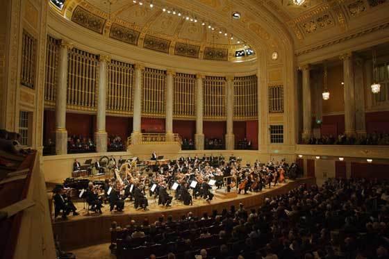 La Sinfónica de Sevilla, en la abarrotada Wiener Konzerthaus.  Foto: Robert Newald
