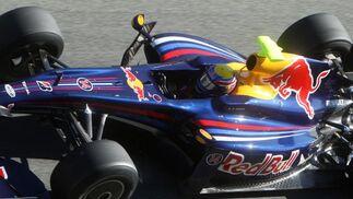 El australiano Mark Webber logró un mejor tiempo de 1:21.321  Foto: J. C. Toro