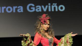 Gaviño llevó el 'Flower Power' a todos sus diseños y abalorios.  Foto: M. Aranda