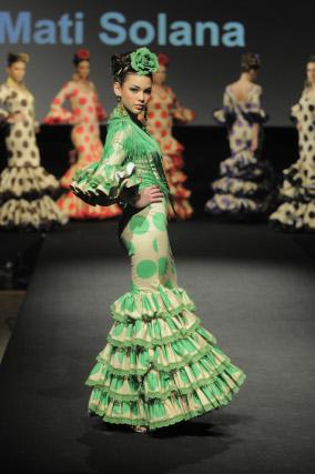 Solana apostó por unos vestidos ligeros y funcionales.  Foto: M. Aranda