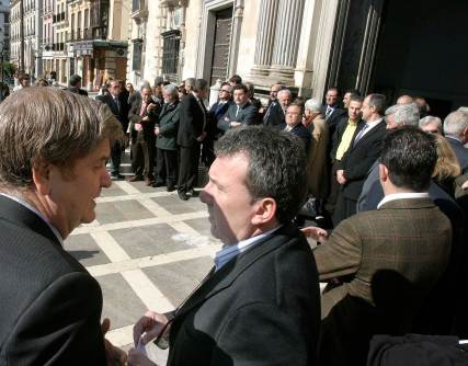 El juez decano, Antonio Moreno, estuvo presente en el acto.  Foto: Maria de la Cruz