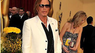 Mickey Rourke, nominado por 'El luchador'.  Foto: AFP Photo / EFE / Reuters