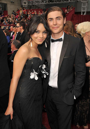 Vanessa Hudgens y Zac Efron.  Foto: AFP Photo / EFE / Reuters