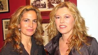 Blanca Parejo y Lola González, del grupo Las Seventies.  Foto: Victoria Ramírez