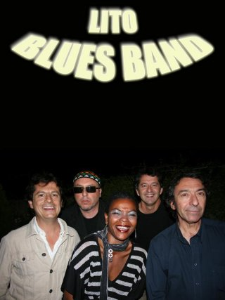 Lito Blues Band. Antequera Blues Festival. Patio del Ayuntamiento. 22 de julio. 22:30 horas.
