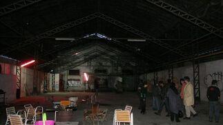 Vista general de una de las naves de la antigua fábrica.  Foto: Victoria Hidalgo