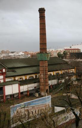 Estado que presenta la chimenea.  Foto: Victoria Hidalgo