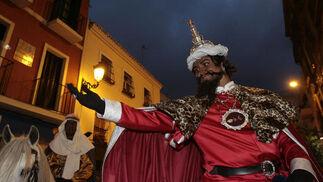 El emisario de sus Majestades ha estado encarnado por el presentador Manu Sánchez.  Foto: Juan Carlos Muñoz