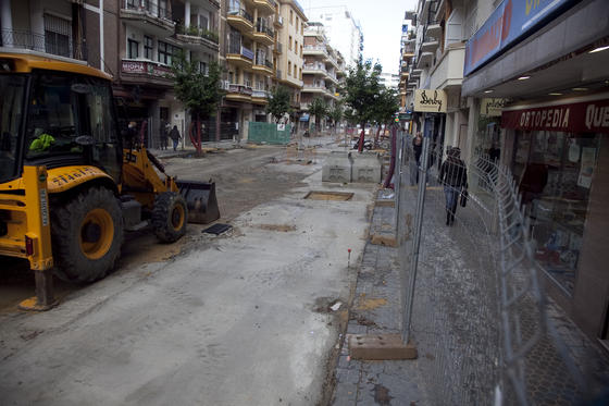 Aspecto de las obras de Asunción.  Foto: Jaime Martínez