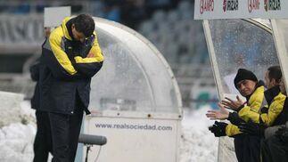La Real Sociedad golea a los amarillos firmando la sentencia final como técnico cadita para Javi Gracia  Foto: LOF