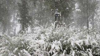 Intensa nevada en Constantina (enero 2010)