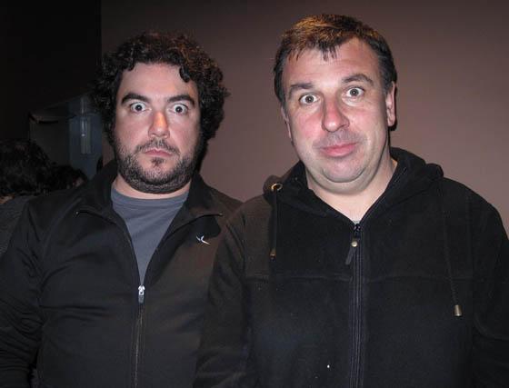 Antonio Blanco y José Antonio Aguilar, de la compañía sevillana Malaje Solo.  Foto: Victoria Ramírez