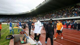 Joaquín volvió a Chapín, donde no jugaba desde que militara en el filial del Betis.  Foto: Pascual