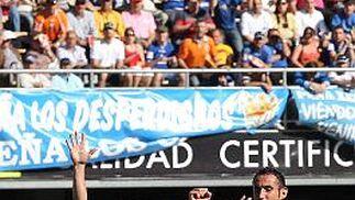El argentino celebra el 1-0.   Foto: Miguel Angel Gonzalez