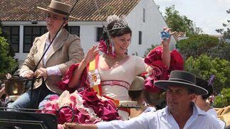 Imagen de la Reina de las Fiestas patronales de Castellar  Foto: Paco Guerrero