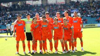 El equipo de Agné cosechó un trabajado triunfo a domicilio frente al Salamanca.  Foto: LOF