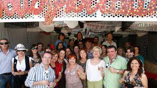 Asistentes disfrutan en la Feria del Caballo.  Foto: Pascual