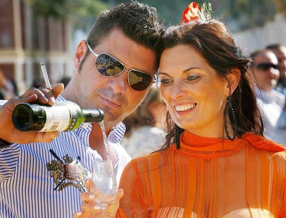 Un brindis por la Feria 2010  Foto: Pascual