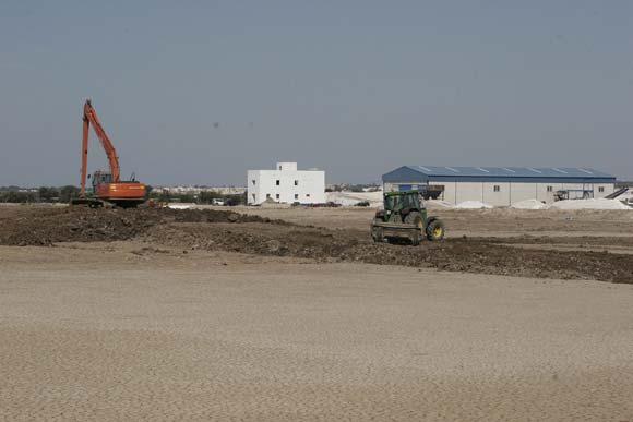 La Junta ejecuta un proyecto para ampliar la explotación de las salinas en El Puerto y la zona de nidificaciones   Foto: Andres Mora