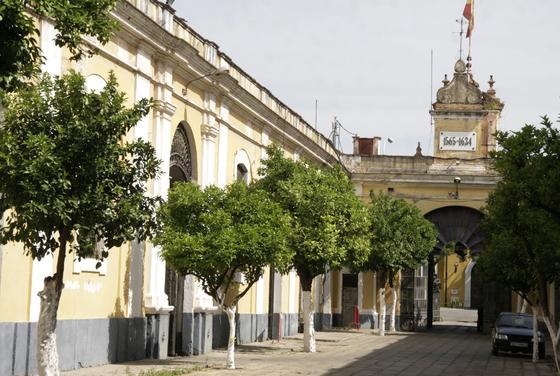 Reportaje fotográfico de la Real Fábrica de Artillería de Sevilla.  Foto: Victoria Hidalgo