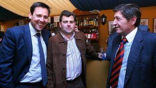Joaquín Fernández- Palacios, Luis Osborne y Antonio Muñoz.  Foto: Vanesa Lobo