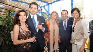 Ana Partera, Borja Milans del Bosch, María José Urraca, Manuel Fernández Piedras y Susana Ocaña.   Foto: Manuel Mateo