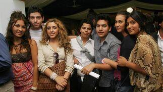 Los jovencísimos miembros del grupo Soniquete.   Foto: Vanesa Lobo