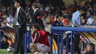 José Aurelio Gay, entrenador del Zaragoza, a pesar de la derrota, estaba contento con el trabajo de sus jugadores y con la salvación, una permanencia que selló de forma matemática  Foto: Miguel Angel Gonzalez