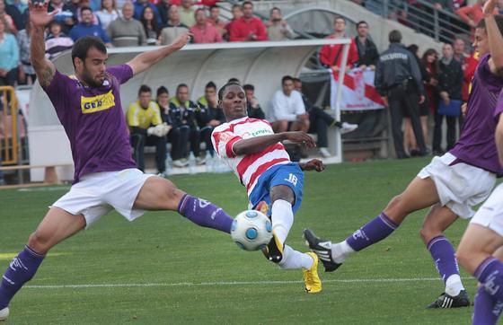 El Granada consiguió un triunfo solvente ante una afición entregada. / Foto: Miguel Rodríguez
