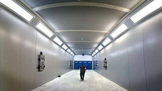 La factoría de Puerto Real, son 19.500 metros cuadrados, es una de las mayores plantas de montaje del país  Foto: Julio Gonzalez