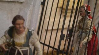 El Museo Thyssen acoge el nacimiento napolitano de la cofradía de los Dolores de San Juan.   Foto: Migue Fernandez / Punto Press