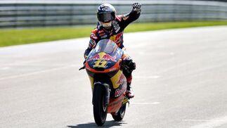 Moto3  Foto: AFP